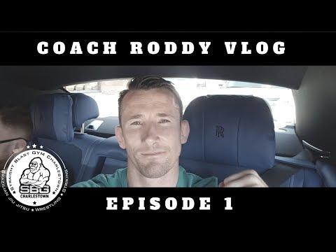 McGregor v Mayweather - Coach Roddy Vlog 1