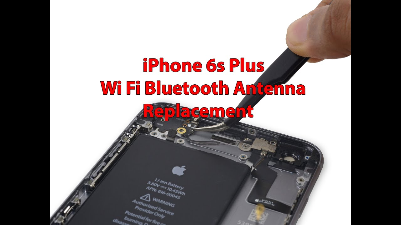 bluetooth not working iphone 6 iphone 6s plus wi fi bluetooth antenna replacement 16740