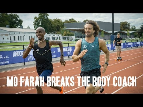 Mo Farah Breaks The Body Coach | August 2017