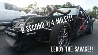 Cleetus McFarland Makes A Few Passes in Leroy & Dale Truck!! (AUSSIE KILLS A SHOEY)