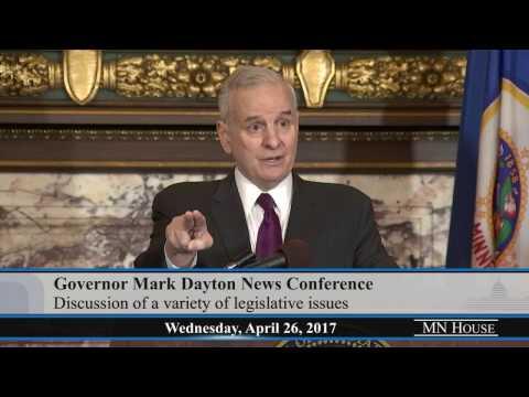 Governor Mark Dayton Media Availability  4/26/17