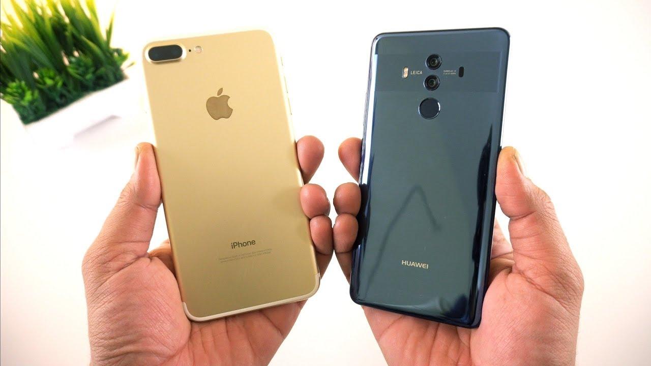 IPHONE 8 PLUS VS HUAWEI MATE 10