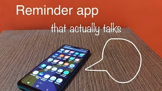 Reminder app that actually talks screenshot 1