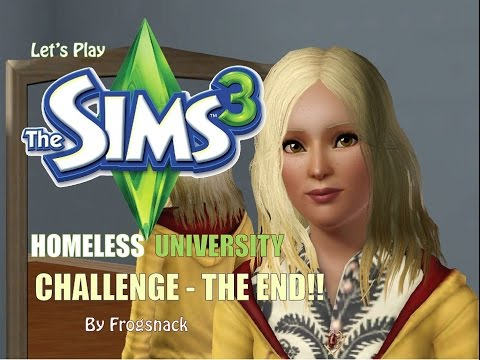 Sims 3 Let's Play Homeless University Ep 32 Surprise Ending