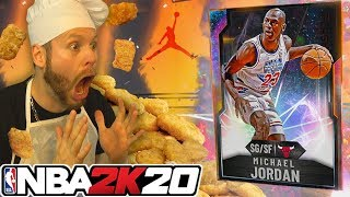 I went Nuggets for Galaxy Opal Michael Jordan! NBA 2K20