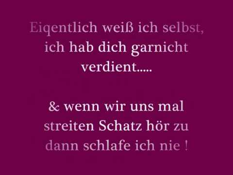 Tolles Lied Ich Liebe Dich Youtube