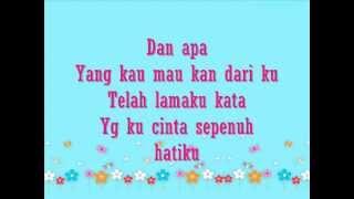 Last Minute - Maafkan Aku With Lyrics ( Ost Setia Hujung Nyawa )