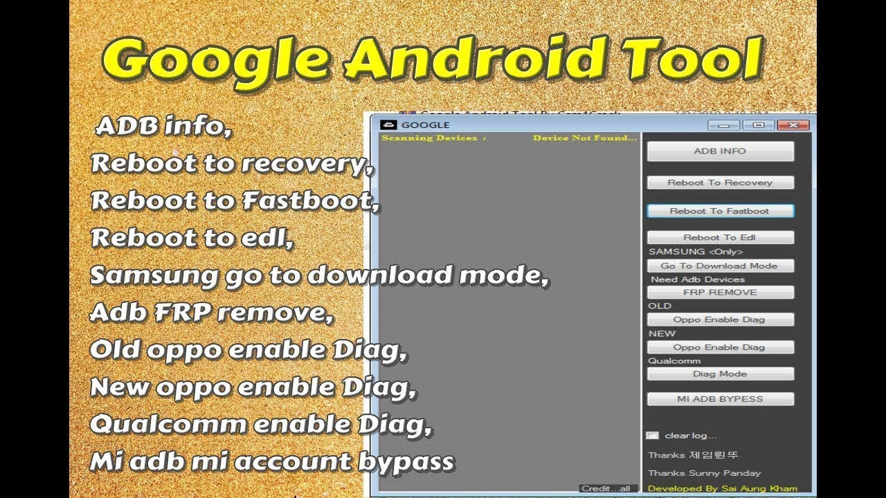Google Android Tool Recovery, Fastboot,edl, Adb FRP Remove, New Oppo, Mi Adb Mi Account Bypass Tool