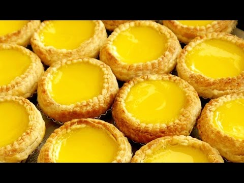 Easy egg custard tart recipes