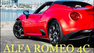 2018 Alfa Romeo 4C /// Here Is An Opinion From A Chef And My Self About This Super Car !!!