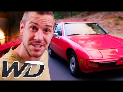 🔴Ant Starts Work On The Engine Of A Porsche 924 | Wheeler De