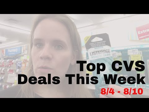 Top Deals at CVS: 8/4-8/10 | How to Save the Most