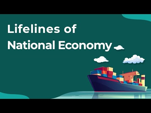 Lifelines of National Economy (Full Chapter) Class 10 | CBSE Geography | SST 2020 | Revision Series