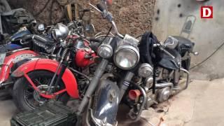 ¿Cómo mantener rodando una Harley en Cuba?