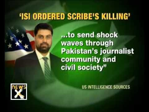ISI killed journalist Saleem Shahzad: US Intelligence