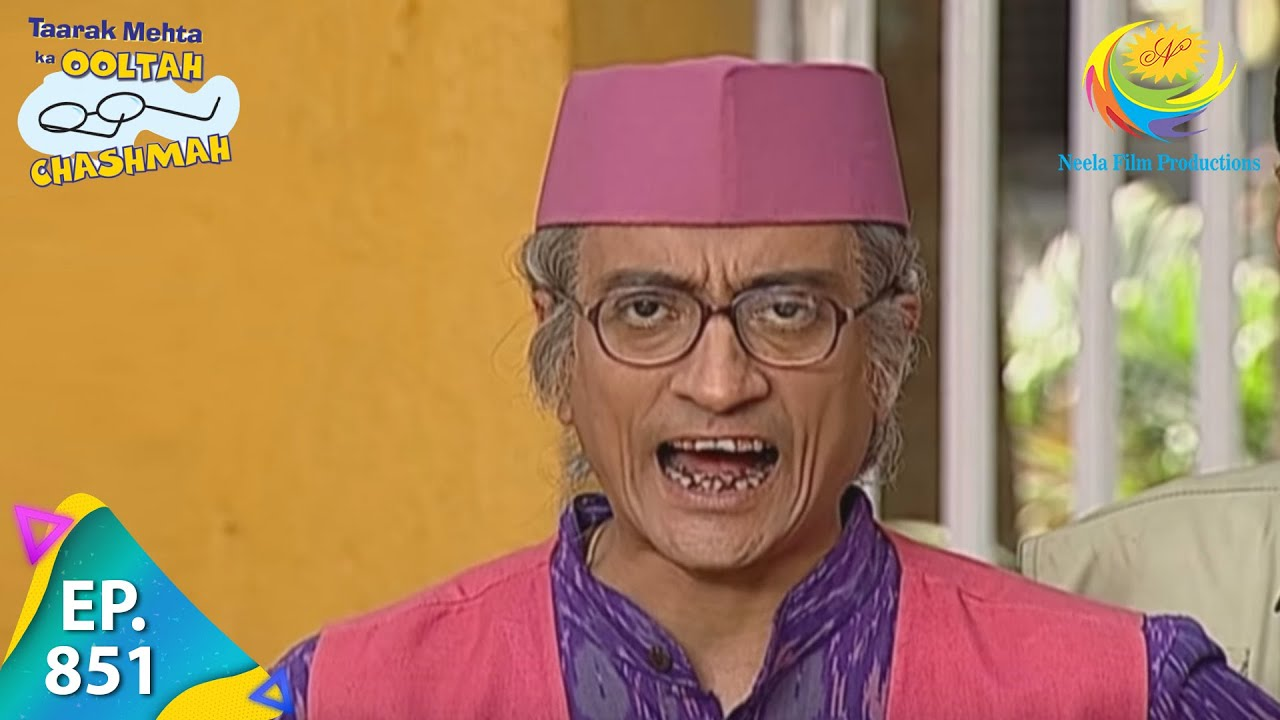 Download Taarak Mehta Ka Ooltah Chashmah - Episode 851 - Full Episode