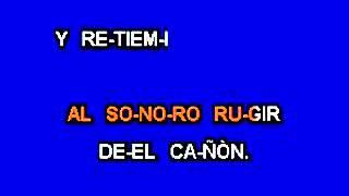 Himno Nacional Mexicano Karaoke.wmv