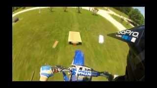 Huge Homemade Moto-cross Jump (GoPro HD Hero 2)