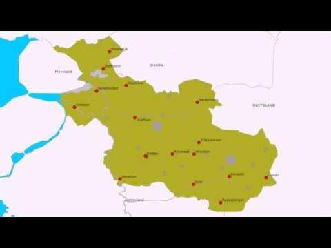 Topografie Provincie Overijssel Youtube