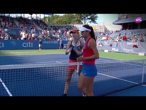 2017 Citi Open Semifinals | Ekaterina Makarova vs Océane Dodin | WTA Highlights