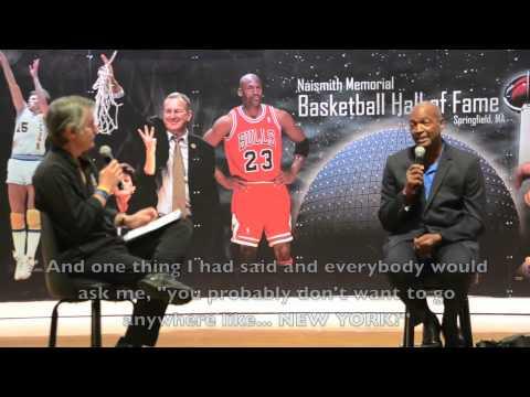 Mike Glenn at the Naismith Basketball Hall of Fame, Part 2