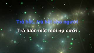 Trả Nợ Tình Xa Karaoke (NS: Tuấn Khanh) - Tone Nữ