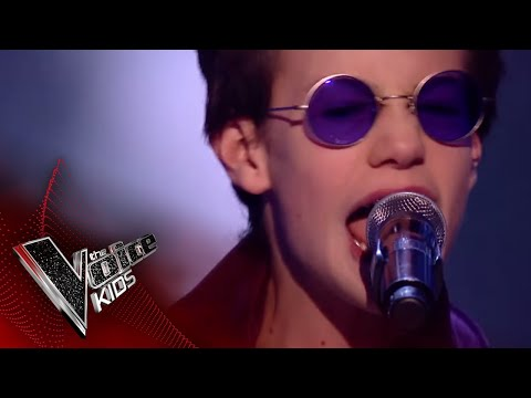 Josh Performs 'Rollover DJ': Blinds 2   The Voice Kids UK 2018