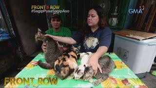 Front Row: Mag-asawang sumasagip ng mga aso't pusa, kilalanin