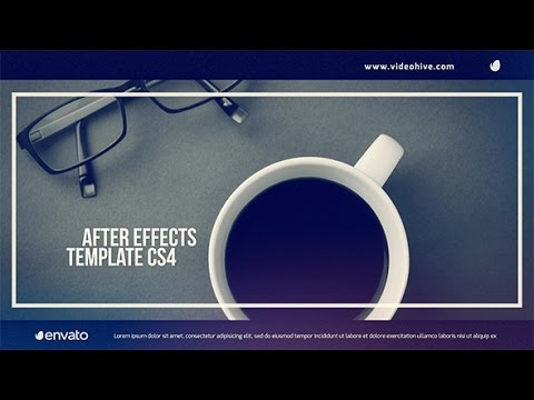 After Effects Template : Frame and Slide