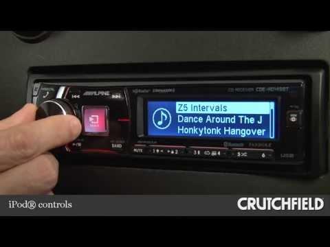 Alpine CDEHD149BT Car CD Receiver Display and Controls Demo  Crutchfield