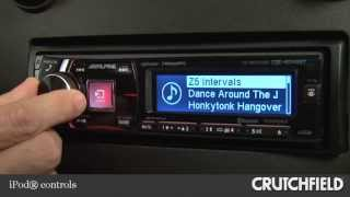 Alpine CDE-HD149BT Car CD Receiver Display and Controls Demo | Crutchfield Video