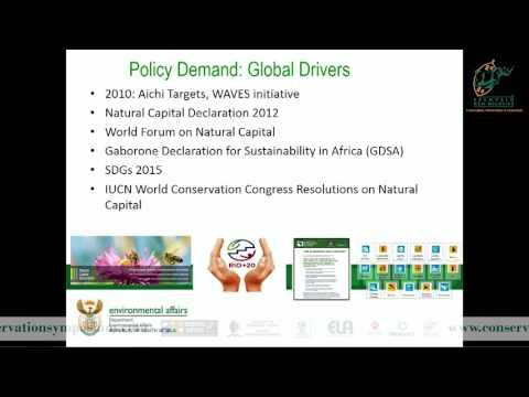 2016D2S4L1 Kiruben Naicker The science policy interface of natural capital accounting
