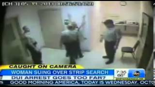 ▶ Caught on Camera Woman Suing Over Stip Search DUI Arrest Goes Too Far