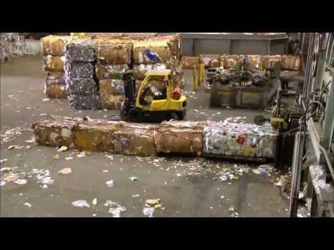 Смотреть Утилизация мусора в США. онлайн