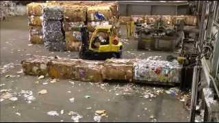 Утилизация мусора в США.