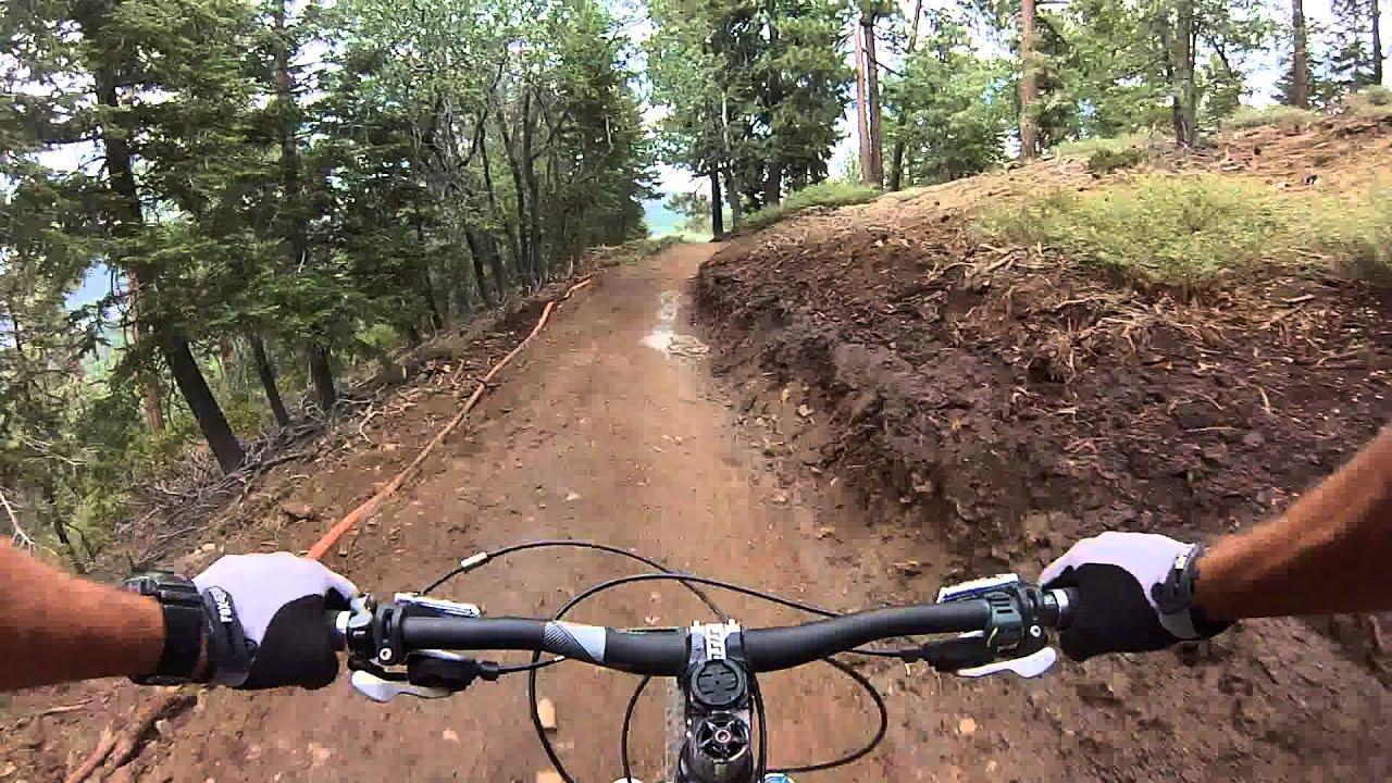 Snow Summit Bike Park Big Bear Ca West Ridge Trail Shimano