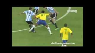 ronaldinho y neymar Argentina