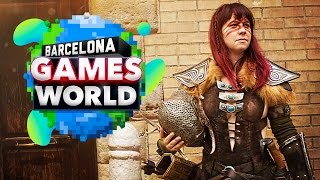 Barcelona Games World 2016 - COSPLAY VIDEO
