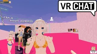 Returning to the world of VRChat & becoming kawaii anime girls - VRChat Funny Moments #1
