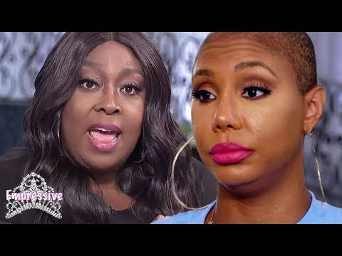 Tamar Braxton is upset that Loni Love revealed why she was fired. She blames her sister!