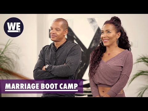 Is Amina Cheating? | Marriage Boot Camp: Reality Stars | WE tv