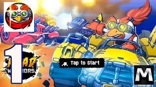 Road Warriors - Gameplay Walkthrough Part 1 - (iOS, Android)
