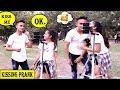 Kissing Prank Delhi || Cute Girls Dare || Quick Kissing Game  by sam || sam k official