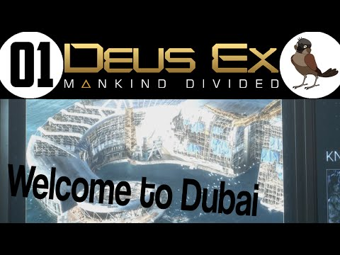 Deus Ex - Mankind Divided [1] ◄ Dubai ► Augmented Reality (Ultra / 60fps / High Dif) ✔