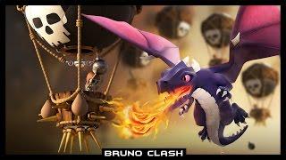 CV8: DRALOON - Estratégia Perfeita para 3 Estrelas - Clash of Clans - Bruno Clash