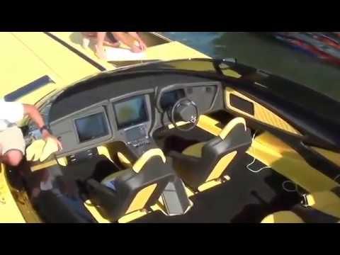 The Lamborghini Boat in Poker Run Tampa