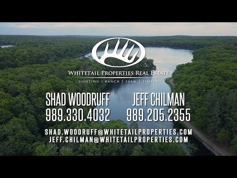 Breathtaking Clear Lake Ranch In Beautiful North Central Michigan - Roscommon Co MI 1191 Acres
