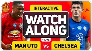 MANCHESTER UNITED vs CHELSEA With MARK GOLDBRIDGE LIVE