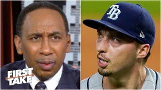 It was an 'inexcusable' decision! - Stephen A. on Rays benching Blake Snell in Game 6 | First Take