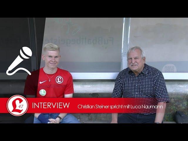 Regionalligateam: Interview mit Luca Naumann